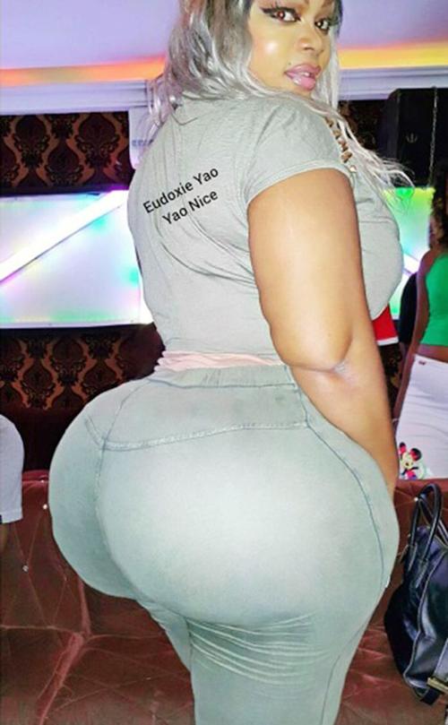 Самая большая задница у африканских женщин
