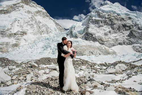 свадебная фотосессия на эвересте