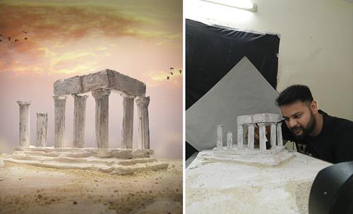 пейзажи снятые в студии