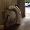 как спрятаться в трубе