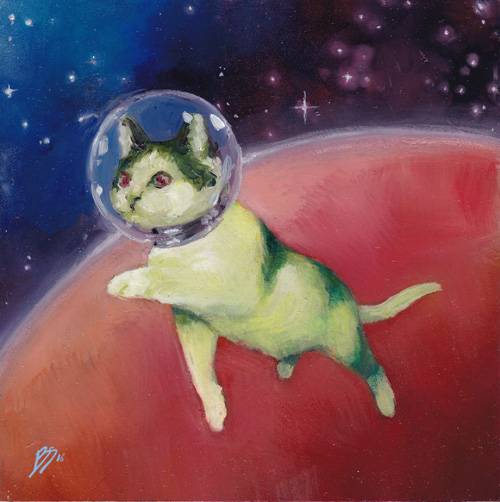 кошки в космосе