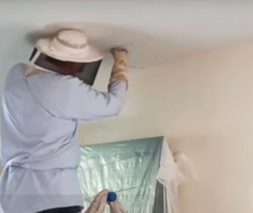огромный улей в потолке