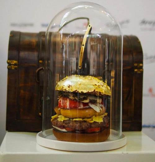 самый дорогой в мире гамбургер