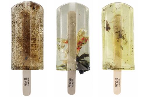 мороженое из грязной воды