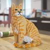 скульптуры кошек из lego