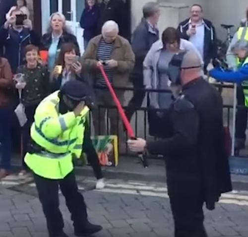 полиция против дарта вейдера