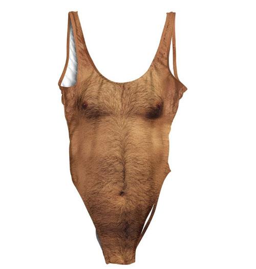 волосатые купальные костюмы