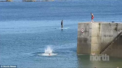опасные прыжки в воду