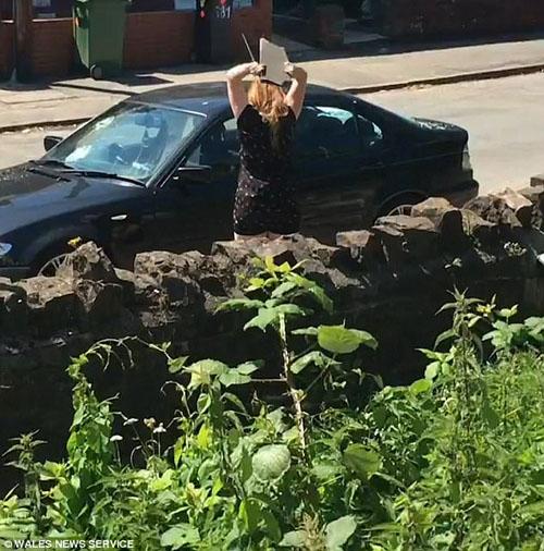 женщина разбила машину любовника