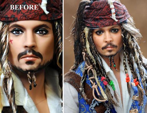 куклы в виде известных персонажей