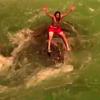 пловец не справился с течением