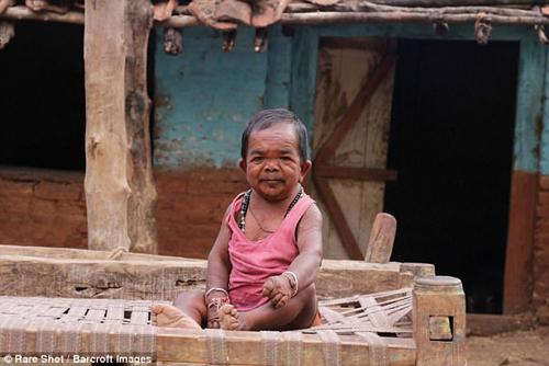 маленький мужчина из индии
