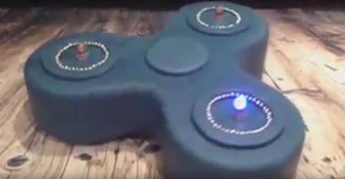 торт в виде спиннера