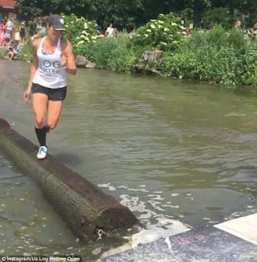 бег по мокрым брёвнам