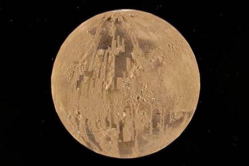 пирамида и купол на марсе