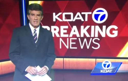 раздражённый ведущий новостей