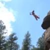 неудачный прыжок со скалы