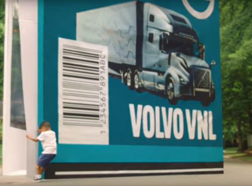 грузовик в коробке