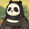 панды на известных картинах