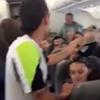 авиапассажиры помогли женщине