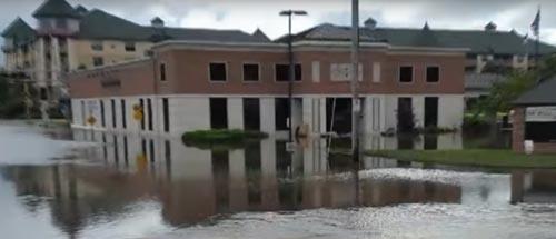 наводнение уничтожило деньги