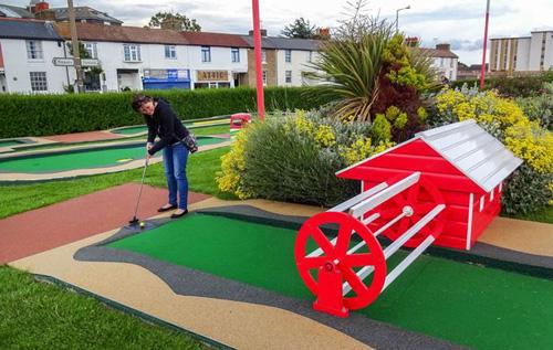 гольф на всех полях в стране
