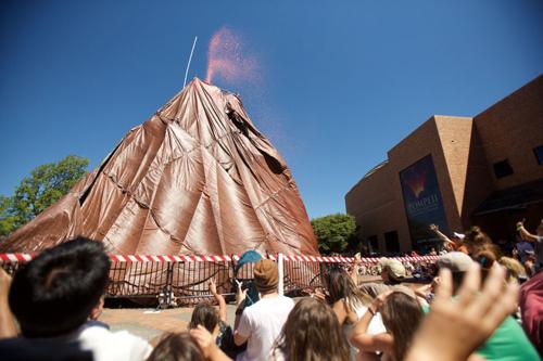 вулкан претендует на рекорд