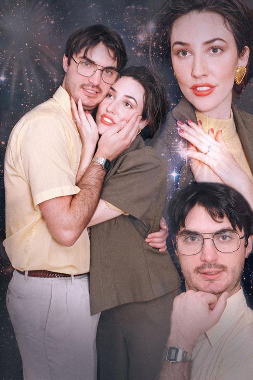 фотосессия в стиле 80-х годов