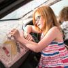 машина-раскраска для детей