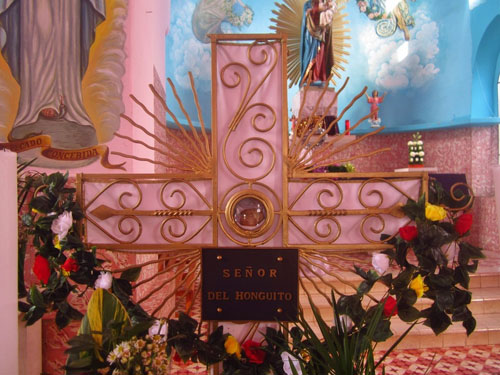 гриб с изображением иисуса христа