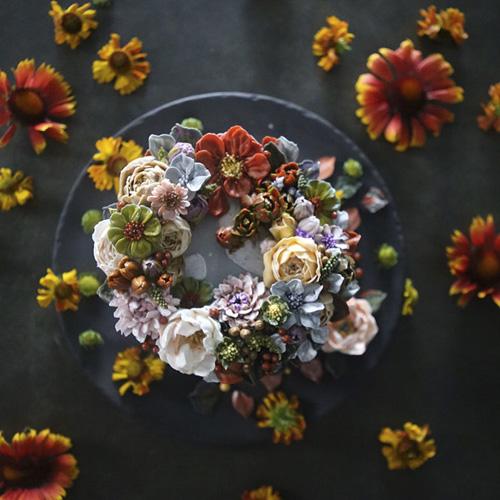 торты похожи на живые цветы