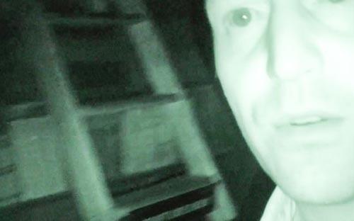 призрак двигал лестницу