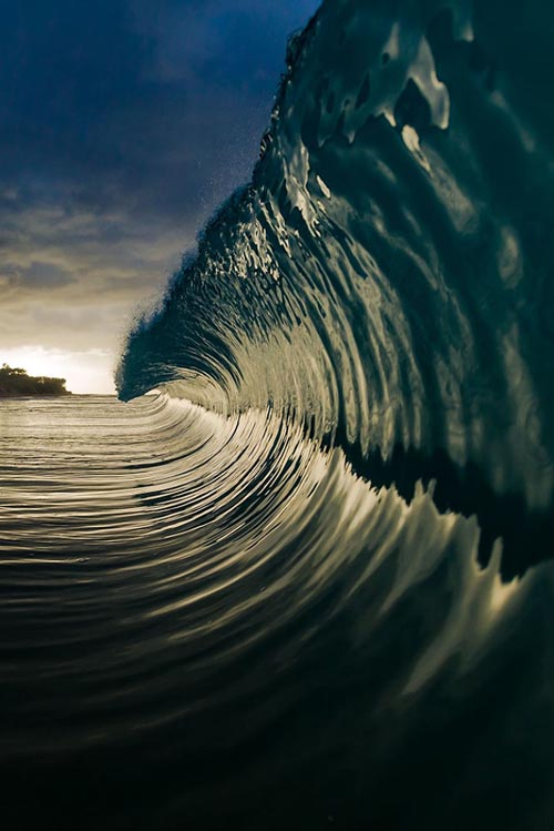 роскошная красота океана