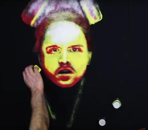 картины из цветной соли