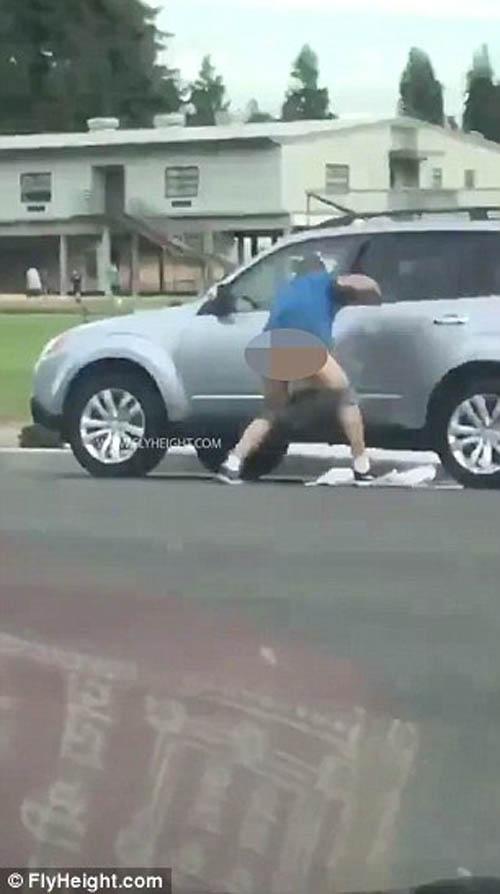 преступник потерял штаны