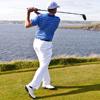 любитель гольфа пострадал от жены
