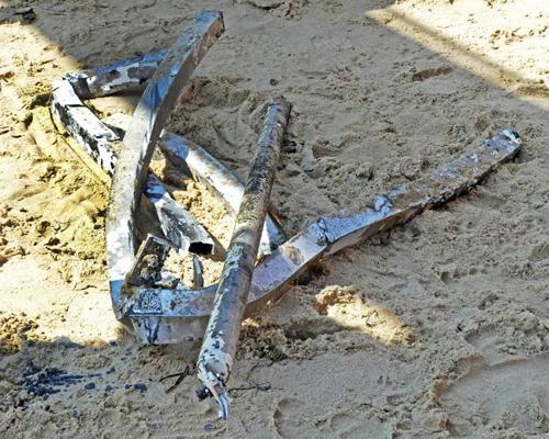 загадочный объект извлекли из воды