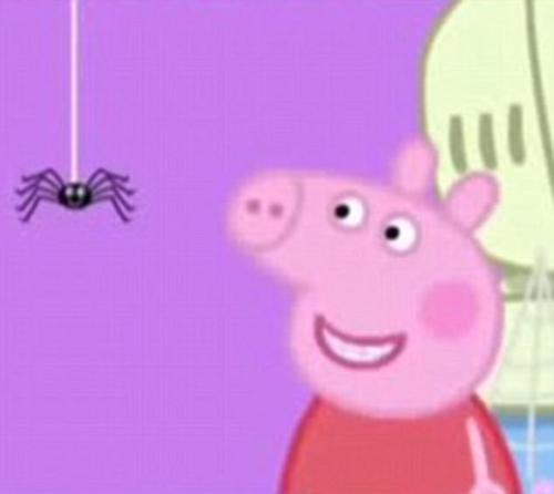 эпизод мультфильма с пауком
