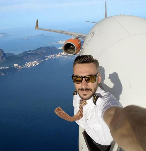 опасные селфи пилота