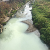 молочную реку с трудом очистили