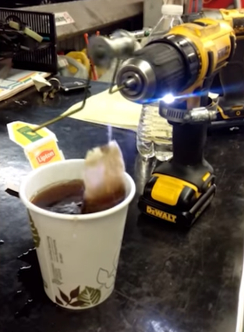 новый способ заваривать чай