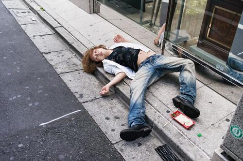 уродливая сторона пьянства