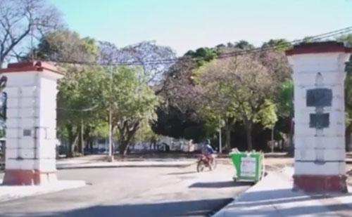 фотография пришельца в парке