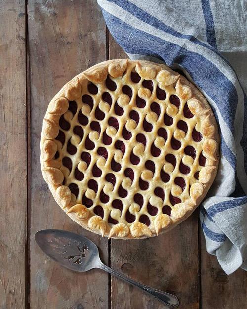 узорные пироги вкусны и красивы