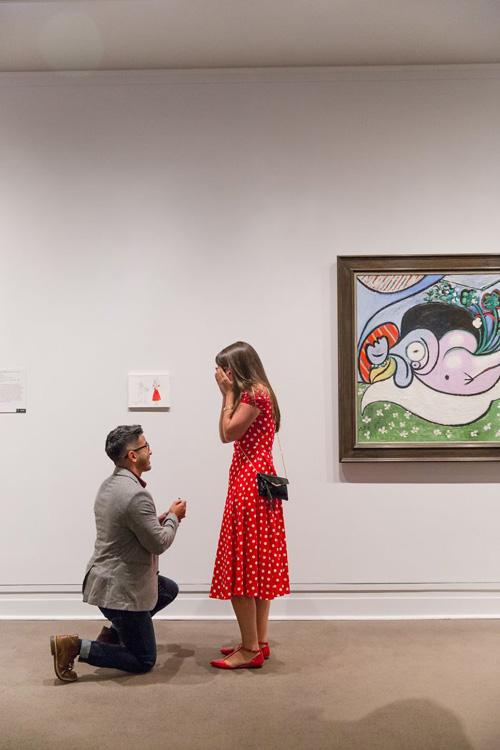милый акт вандализма в музее