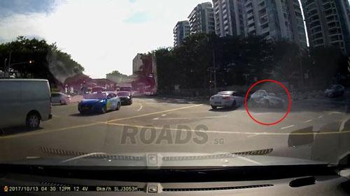 авария с машиной-призраком