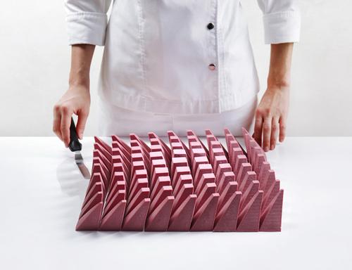 оригинальный архитектурный десерт