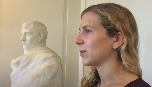 неизвестная скульптура родена