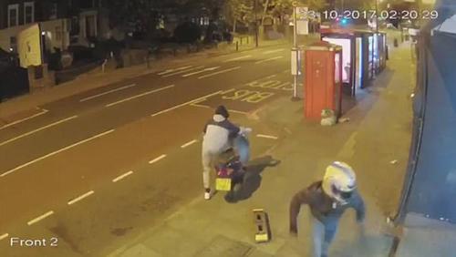 хладнокровные очевидцы ограбления
