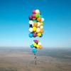 полёт на кресле с шариками